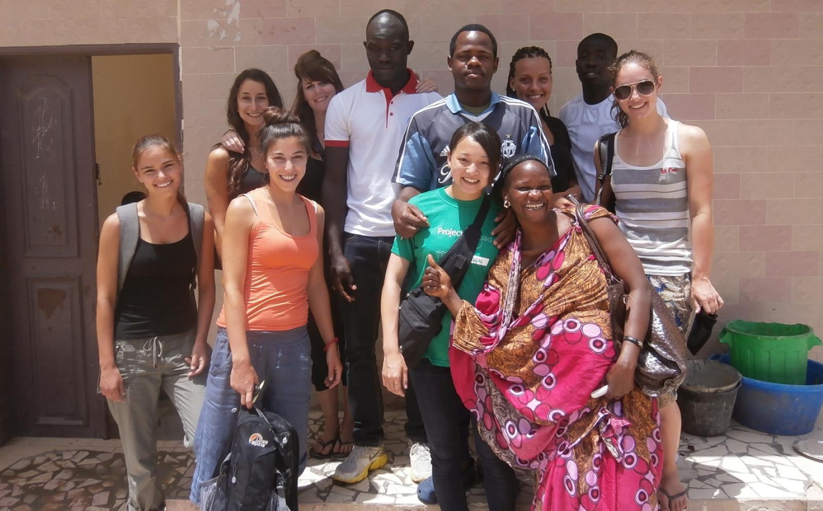 日本人留学生とセネガルで出会った多国籍な仲間たち